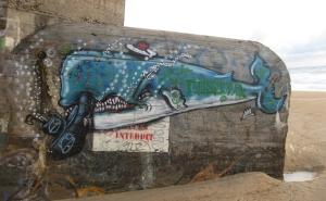 Wal auf Beton...